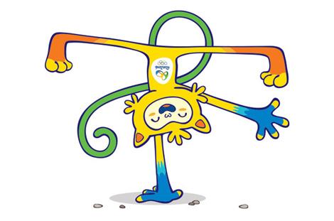 2016年里约奥运会和残奥会吉祥物长这样子图片