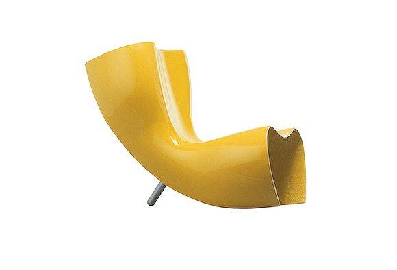 马克·纽森为欧洲顶级家具品牌cappellini设计的felt椅子,被设计界誉