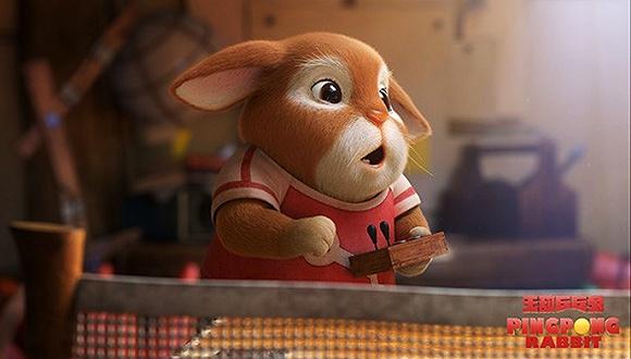 《无敌乒乓兔》海报.图片来源:网络