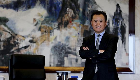 万达集团董事长王健林曾在央视《对话》节目中表示图片
