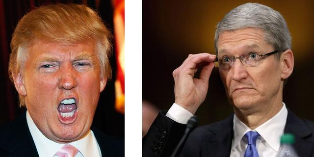 特朗普向库克喊话:回美国生产iPhone吧!