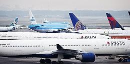 达美航空一飞机在浦东机场擅自穿越跑道