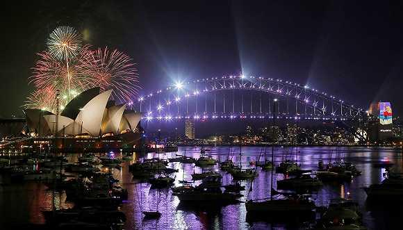 新年新气象 看看世界各地都是怎么跨年的
