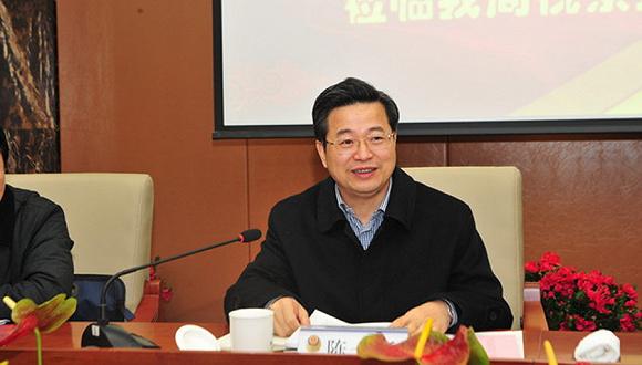 陈一新任湖北省委副书记、武汉市委书记