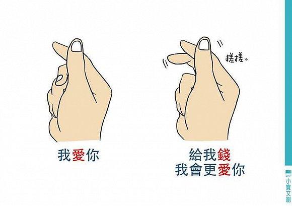 别再随便用手指比心了