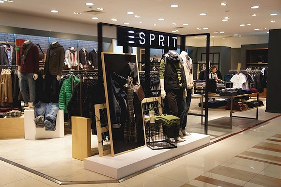 Esprit 36 for Retail store setup ideas