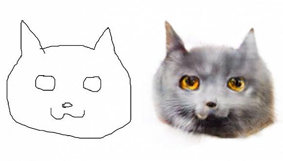 我刚生成了一窝丑猫