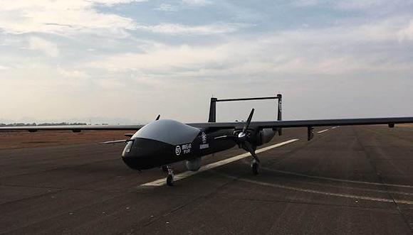 順豐大型無人機首次模擬空投 給華為基站送貨