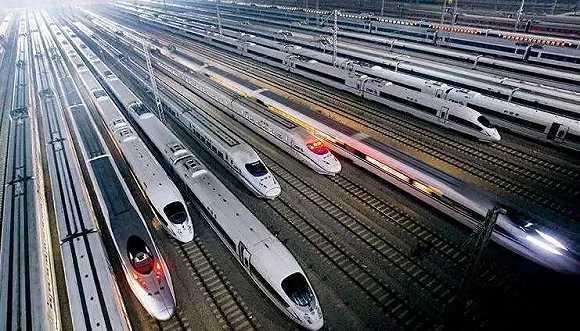 北京新機場內景亮相 猶如鋼鐵叢林