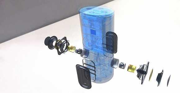 音箱结构图解