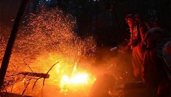 据内蒙古大兴安岭森林防火指挥部消息,发生在内蒙古大兴安岭北部原始