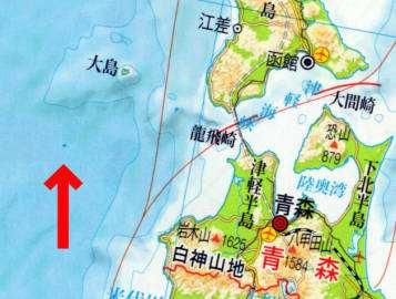 """地图上经常标记的很多""""无名小岛"""",可能事实上确实不存在."""