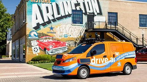 Drive.ai向公眾開放無人駕駛服務 首嘗商業化