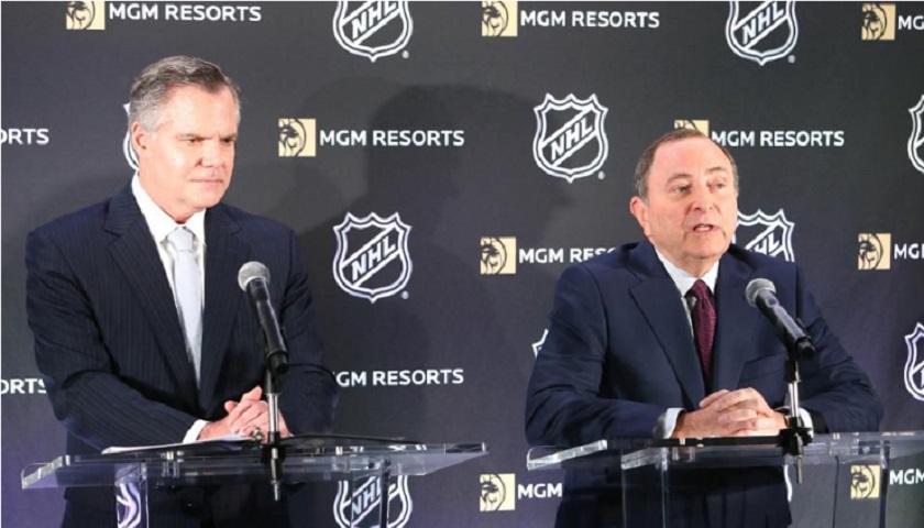 体育博彩收益极大难拒绝 拿下NBA的米高梅又签下了NHL
