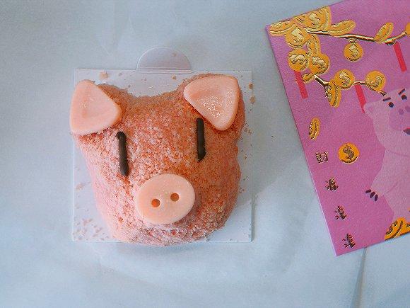 猪年创意蛋糕图片