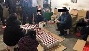 上海查获6处制售假酒窝点数千瓶茅台等假酒
