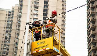 """上海启动清理背规设线立杆,扒开城市天际线""""蛛网"""""""