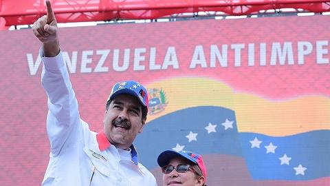 """俄货机军机携物资抵达委内瑞拉首都,马杜罗放言""""美帝要害我"""""""