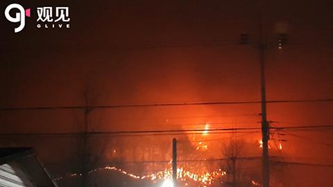 韩国东北部250公顷森林大火造成2人死亡