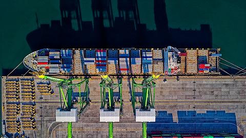 """上海海关为""""一带一路""""货物提供高效通关服务,2019一季度节约成本60万元"""