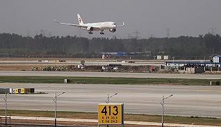 ?#23601;?#38598;】大兴国际机场迎来真机试飞
