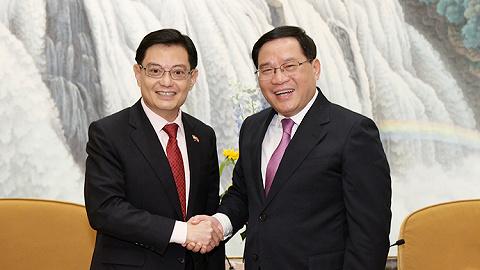 新加坡副总理专程来沪参加这两个重要活动,李强会见,聚焦开放合作