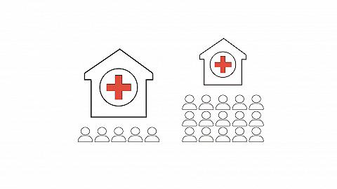 數據 | 民營醫院數量占比超六成背后:診療人次不到兩成