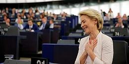 """单薄优势惊险通过外决,欧盟降生首位女""""总理"""""""