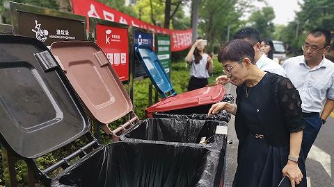 【特寫】上海市人大暗訪垃圾分類