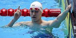 创造历?#32602;?#23385;杨完成世锦赛400米自由泳四连冠