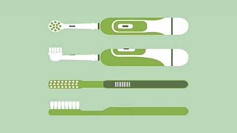 【特写】刷牙不手动,人人来电动
