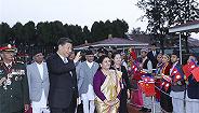 視頻|習近平抵達加德滿都開始對尼泊爾進行國事訪問