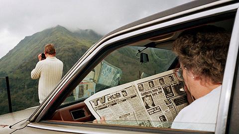 马丁·帕尔在威尔士的40年生活:高山、海滩、食物以及玛格南图片社