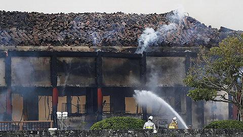 """日本""""国宝""""冲绳首里城突发大火,正殿和南北殿全被烧毁"""