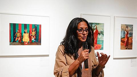 【專訪】印度女藝術家Pushpamala N.:從某種意義上來說,我是絕對自由的