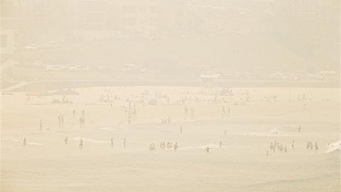 空气污染指数冲破2500,在悉尼呼吸是种什么体验?