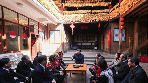 视频丨习近平考察腾冲和顺古镇