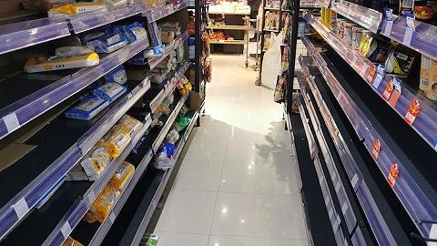 武漢中百超市回應:超高價網傳蔬菜圖不實,大部分商品暫時供應正常