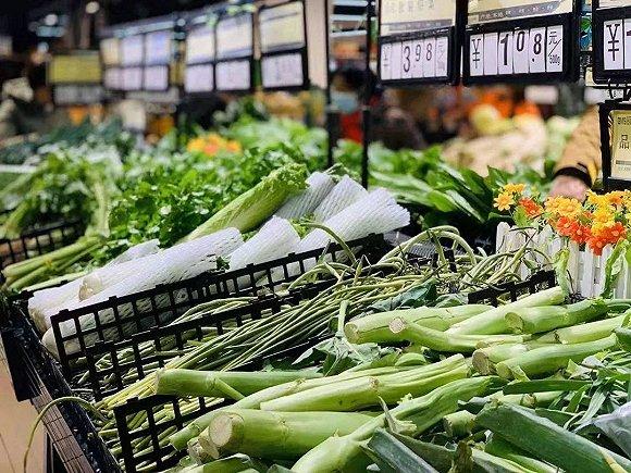 蔬菜不用囤!上海超市、电商保证