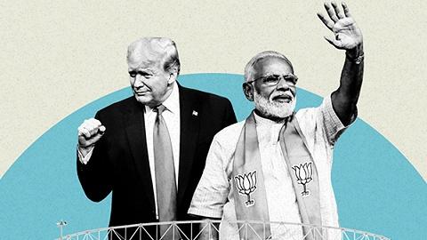 特朗普首访印度感受人山人海,但贸易问题或仍无法化解