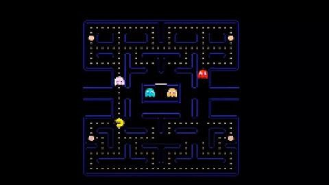 《吃豆人》游戏诞生40周年,英伟达用AI做了一个复刻版