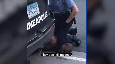 黑人遭暴力执法而死骚乱升级,美国警察膝盖锁喉有何依据?