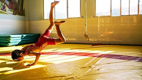 武功山下的摔跤学校