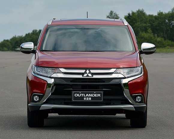 全布局SUV 广汽三菱第四款国产车欧蓝德9月上市高清图片
