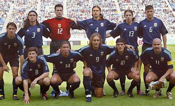 曾经代表阿根廷国家队出战2002年世界杯.图片来源:网络-波切蒂