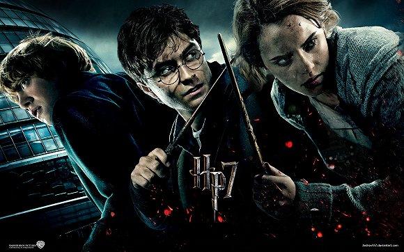 《哈利波特》电影海报