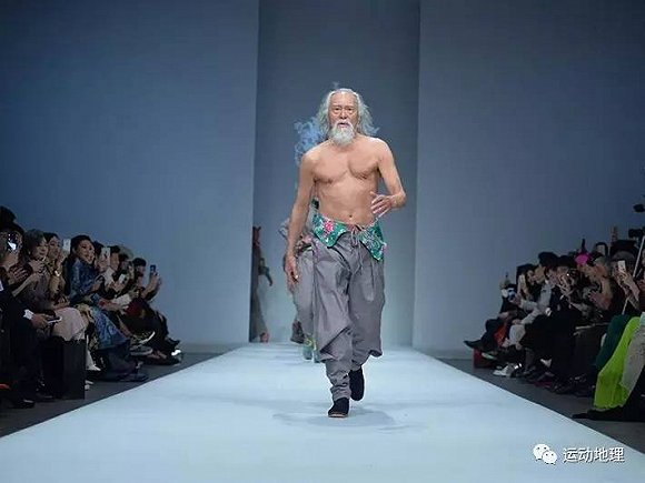 中国最帅老头王德顺,运动让我永远优雅