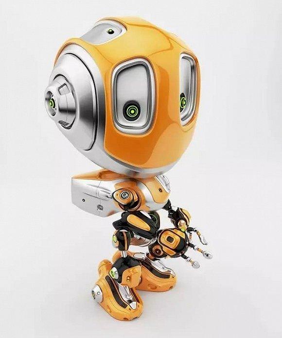 """現在的家庭監護機器人也越來越廣泛,""""融合運用智能終端設備,機器人"""