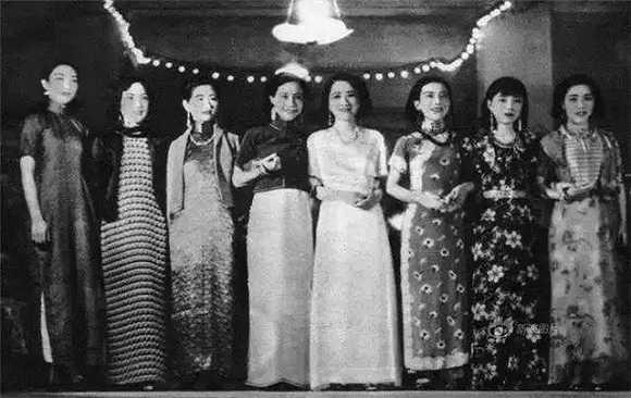 穿定制旗袍,背lv包包,真名媛都活在民國時期圖片