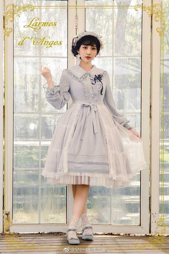 【视频】Lolita视频、JK制服和汉服,破产三姐洋装黄芪图片
